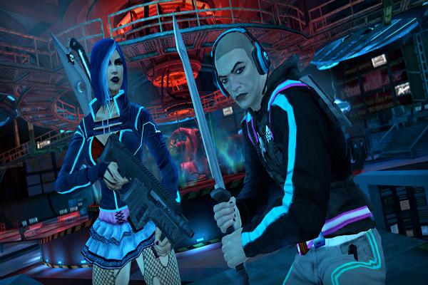 Saints Row 3 Deckers